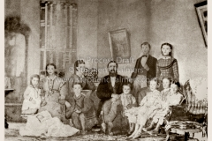 Bryan Family - At their home in Greencastle, IN in 1870