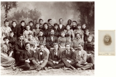 Pearl Bryan High School class photo (the source of the portrait used as souvenirs after her death)