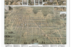 Historic map of Greencastle