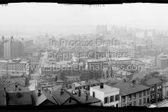 Cincinatti from Mt. Adams (1909) - Digitally assembled from multiple 8x10 negatives