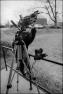 Pinhole Process 1 - Exposing Film (photographing gorilla)