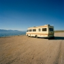 RV Parked at Seaside